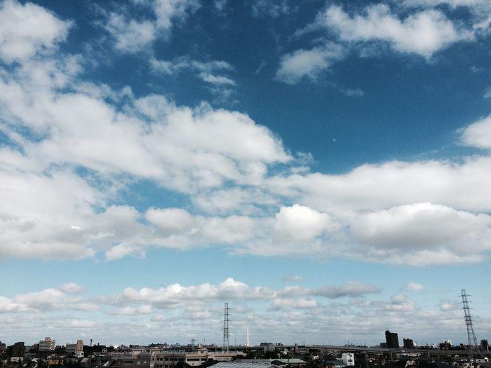 宵待月 Clouds And Sky Moon