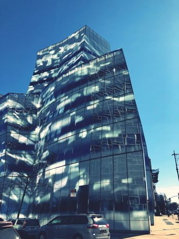 Architecture Building Exterior Built Structure Skyscraper Low Angle View Modern Sky Clear Sky Day Outdoors City