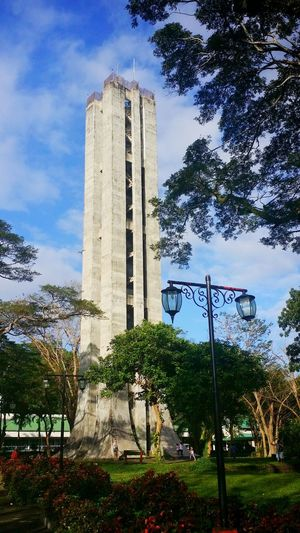 Sky Building Exterior Built Structure Architecture Tree Day No People Outdoors UPLB Carillontower Carilliontower Eyeem Philippines