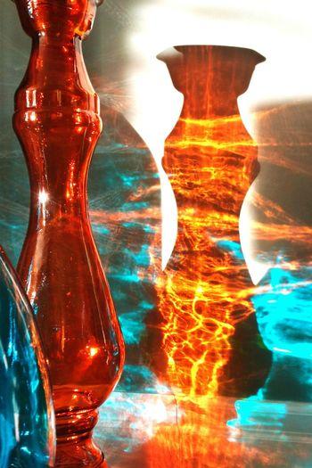 Sun Effect Colors Colorful Reflection Orange Blue