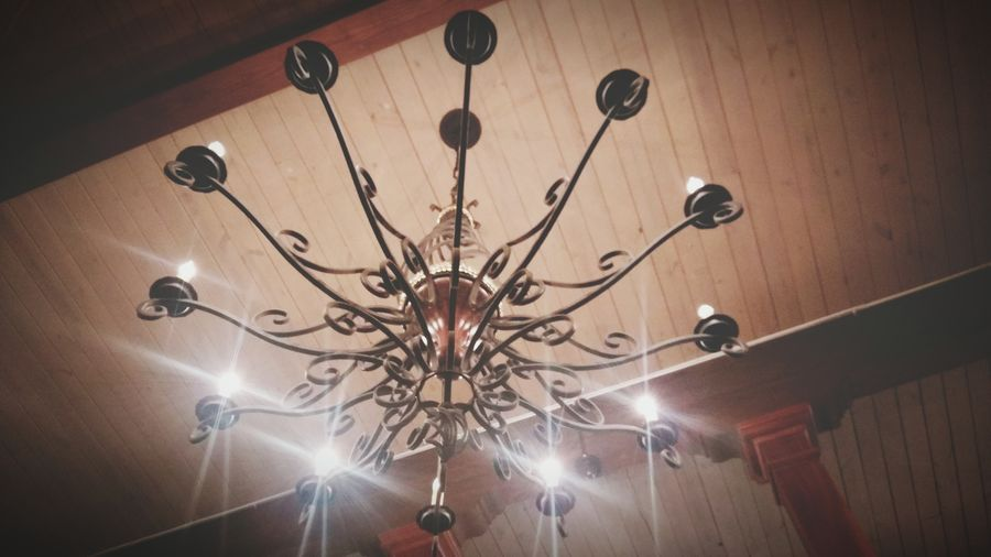 Chandelier Old Buildings Wood Ceiling Lights Lights And Shadows Iron Chandelier