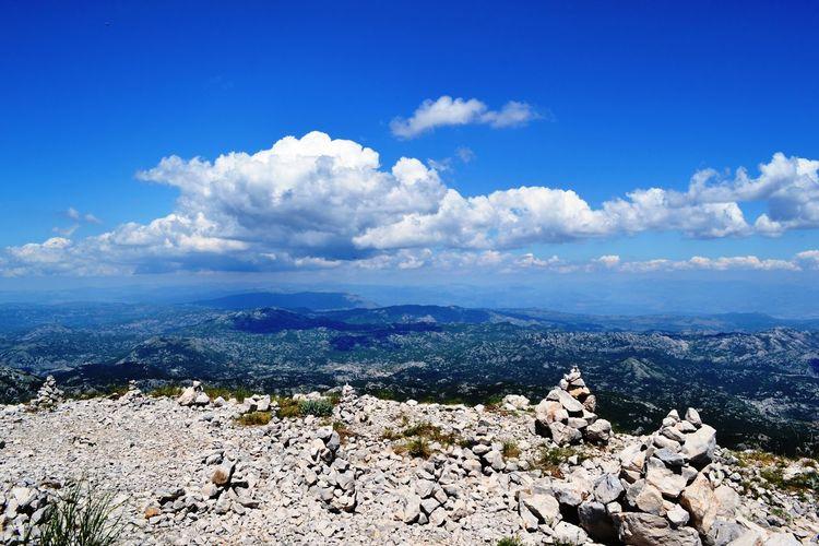 Blue Eyem Gallery Eyemphotography Landscape Lovcen Montenegro Mountain Nature Njegosev Mauzolej Sky