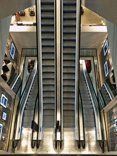 Escalator Shopping Mall Hamburg From Above  Symmetrical Steps Stairs EyeEm Best Shots Jopesfotos - Urban Jopesfotos - Bestefotos