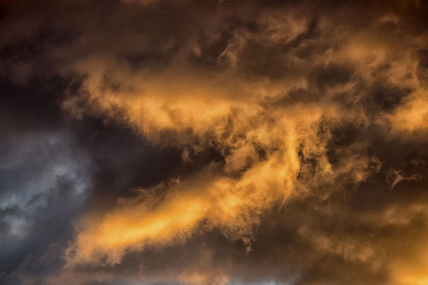 Cloud - Sky Sky Dramatic Sky Cloudscape Beauty In Nature Storm Overcast Backgrounds Nature No People Environment Orange Color Scenics - Nature Warning Sign Storm Cloud Atmosphere Black Color Dark Wind Abstract Backgrounds Outdoors Abstract Power In Nature Ominous
