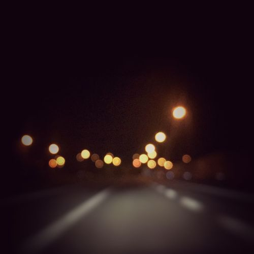 IPhoneography Night Lights LightTheDark Shiny The Journey Is The Destination 43 Golden Moments The Drive