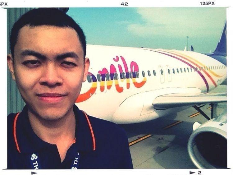 THAI Smile Ops on duty !! BKK Airport.