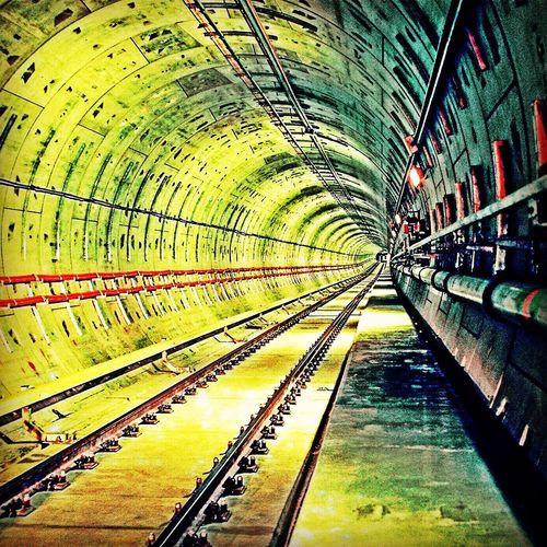 Photo by MRTA Tunnel Subway Mrta Railway Construction Architecture Project Metro Underground Bangkok