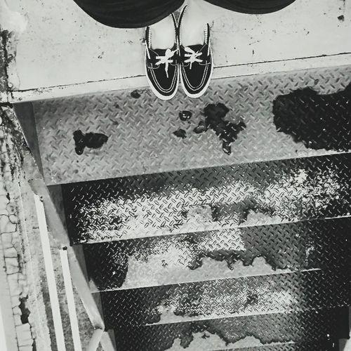One Person Low Section Photography Brazil Urbanphotography Building Exterior Blackandwhite Artphotography Escadaria Pes Foot
