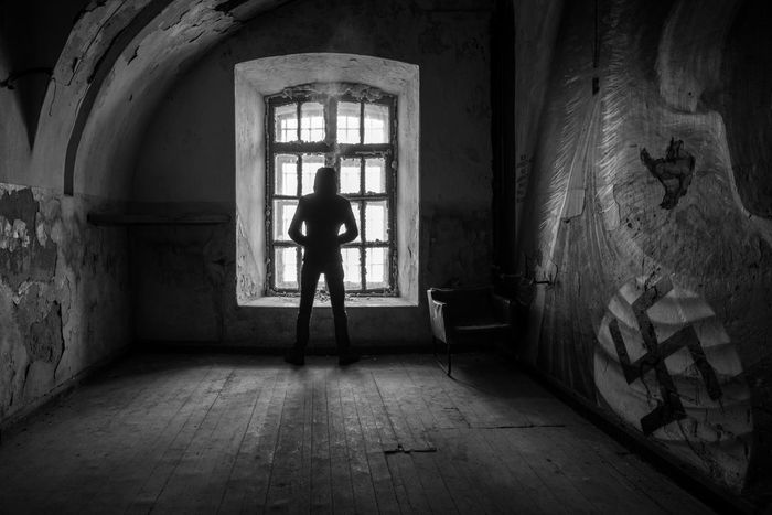 The Unforgiven Abandoned Abandoned & Derelict Abandoned Buildings Abandoned Places B&w Black Black And White Dark Estonia Europe Exploring Historical Building History Mono Monochrome Patarei Prison Symbol Tallinn The Past Urban Urban Exploration Urbex Urbexexplorer Urbexphotography