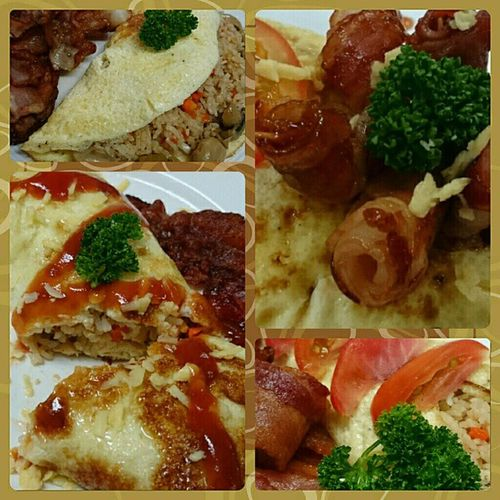 Section HFH14A version of Omurice 🍴 . . . Chemlab Benilde ID114 gastronomy foodporn foodgasm kitchenboss themanansala