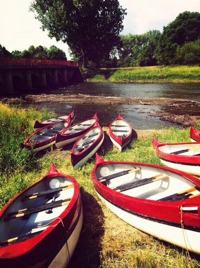 Boot Fahren Fluss Geil Oder Geil Kanu Fahren