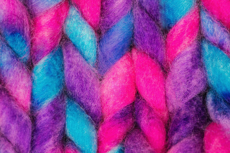 Colorful merino wool texture close up. Knitted background Multi Colored Full Frame Backgrounds Wool No People Textile Close-up Large Group Of Objects Abundance Art And Craft Still Life Indoors  Pattern Softness Choice Creativity Variation Thread Merino