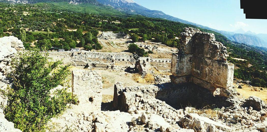 Tlos Antik Kenti, Fethiye- Türkiye