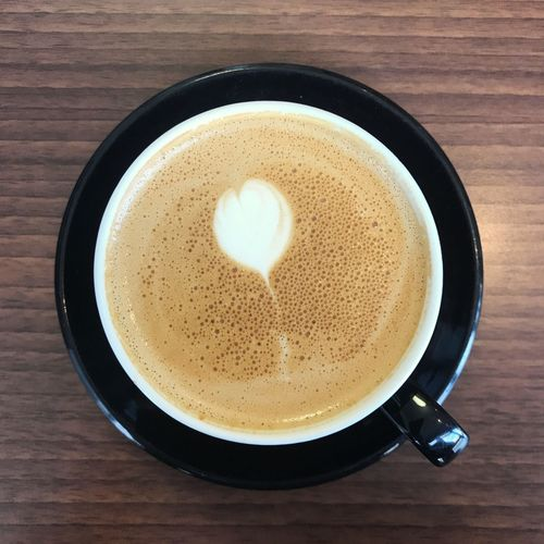 Coffee Food And Drink Refreshment Drink Coffee - Drink Coffee Cup Mug Coffee Cup Freshness Frothy Drink Hot Drink Directly Above