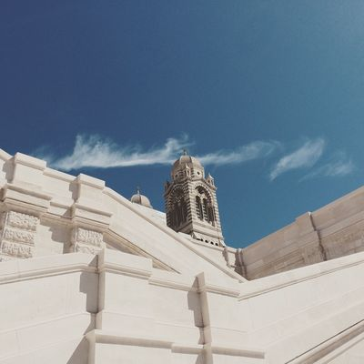 EyeEm Selects Religion Architecture Sky Outdoors No People Sunlight Marseille Cathedral
