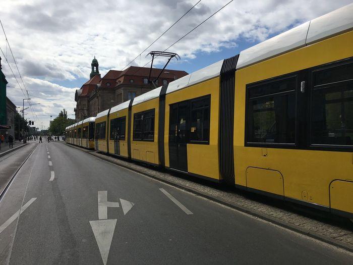 Tram-Stau