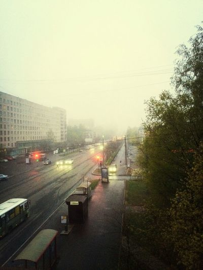 Saint Petersburg Rain