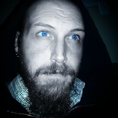 Bored..BlueEyes Movember Blueeyesandbeards Gentsofi .g. Tattooartist