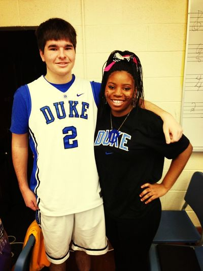 Team Thursday! #LoveMat #DUKEFANSONLY