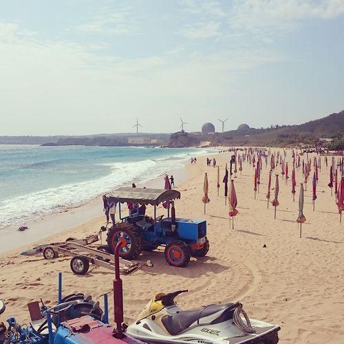 Nuclear beach.