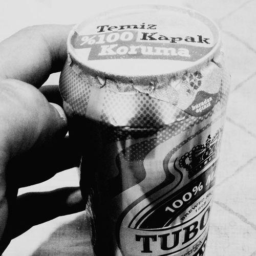Tuborg candır.. Temiz Kapak First Eyeem Photo Black And White