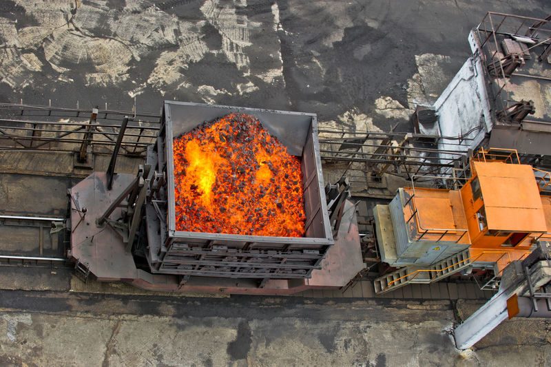 NLMK, Altai coke plant, Russia, metallurgy, wewalka coke from ovens Bad Condition Burning Damaged Fire - Natural Phenomenon Flame NLMK, Altai Coke Plant, Russia, Metallurgy, Wewalka Coke From Ovens No People Obsolete Orange Color Outdoors