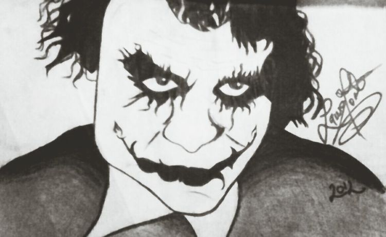 Drawing The Joker Joker Smile