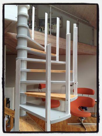 Architecture Stairs Painting Refurbish