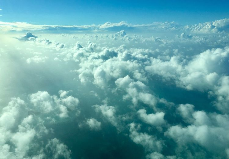 Sky Nature Beauty In Nature Cloud - Sky Cloudscape Tranquility Scenics No People Blue Outdoors Tranquil Scene Sky Only Backgrounds Day The Natural World