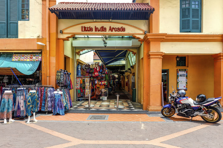 Little India Arcade in Singapore Colours India Little India Little India Singapore Market Singapore Street Marker Arcade Architecture Building Exterior Built Structure City Day No People Outdoors Retail  Singaporestreetphotography Store Streetphotography Text