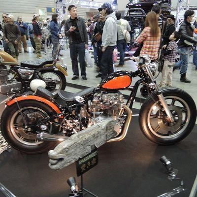 Yokohama hotrod custom show 2013 Hcs2013 Yamaha TX Chopper bobber