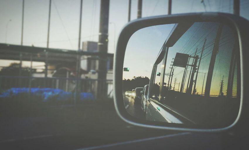 Sky Sunset EyeEm Clouds And Sky Eye4photography  Okinawa Japan Road Mirror