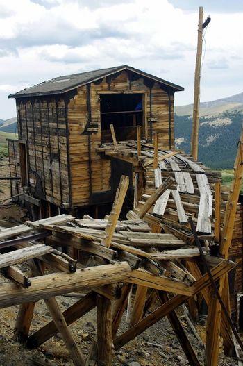 Argentine Pass Santiago Mine Mining Heritage Mountain Landscape Scenics Mining History Of America Colorado Colorado Photography