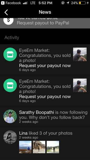 Eyeem sold another two. Thank you 😍😘 Eyeemsold