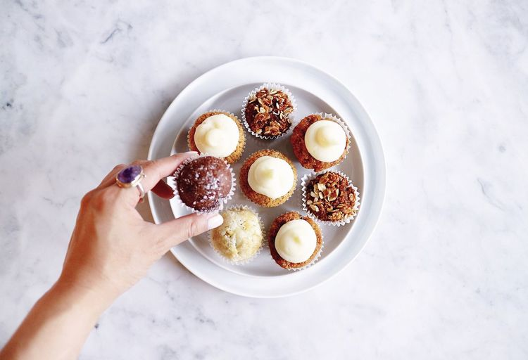 Muffins Hand