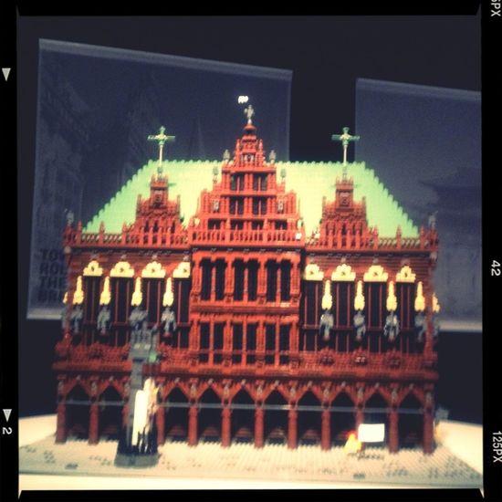 『レゴ®ブロック』で作った世界遺産展