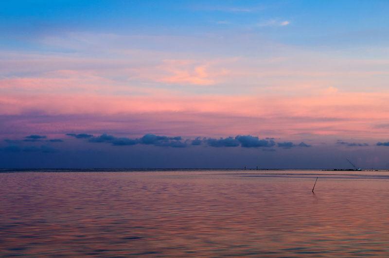 sunset at