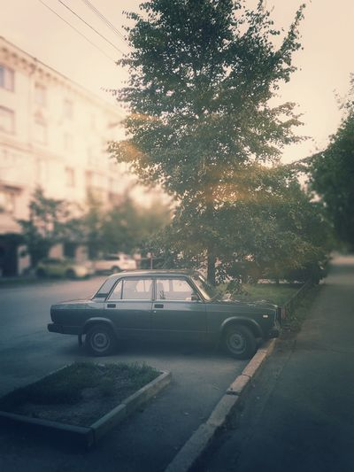 Old car City Summer Summertime Car Russia Russian Road Streetphotography Street