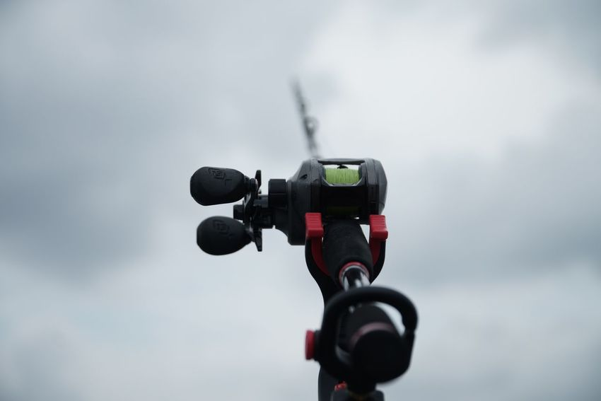 Fishing rod Focus On Foreground Sky No People Low Angle View Day Close-up Outdoors Scenics PunggolBeach Fishing Fishing Tools Sports Photography