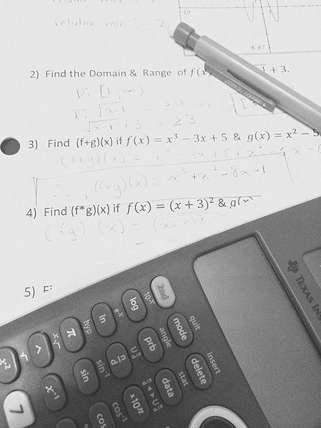 Finalsweek Mathematics Sometimesyouneednumbers Pencil Paper