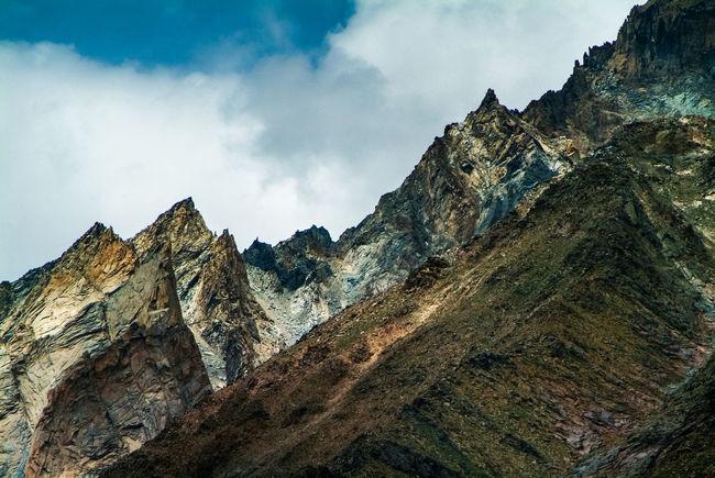Landscape 'suru valley' on the way from Kargil to Zanskar India Jammu And Kashmir Ladakh Leh Leh Ladakh.. Mountain Mountain Range Nature Scenics Sky Suru Valley Travel