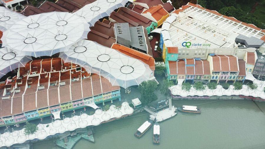 Rooftopview Clarke Quay Singapore