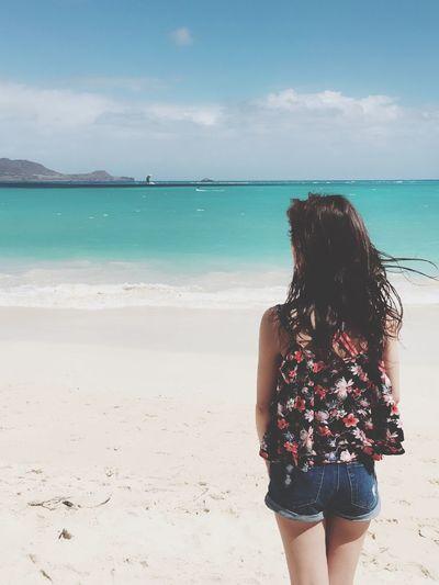 Hawaii Kailua Beach Beautiful Sea Sunshine ♡♡♡