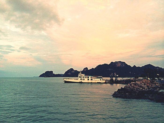Sea And Sky Beautiful Sunset Sunset