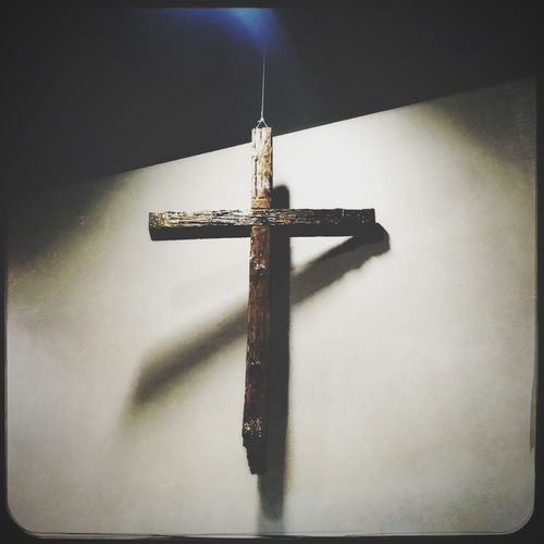 Thankful for the cross Cross Religion Crucifix Spirituality No People Indoors  Church First Eyeem Photo