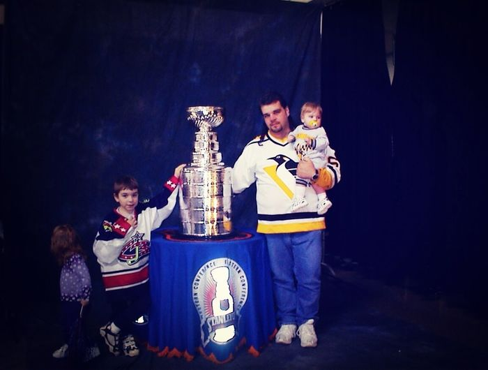 When I Got To Touch The Stanley Cup #throwback