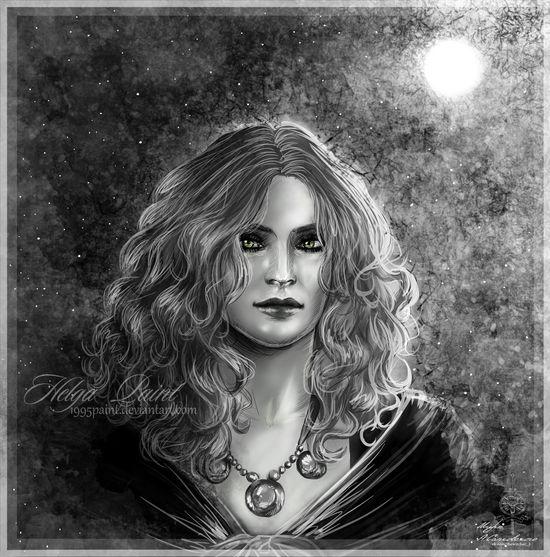 Art Fantasy MargaritaLauxAntille Portrait Sapkowski Thewitcher Thewitcher3 Thewitcher3wildhunt
