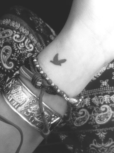 Free like Bird! ? My first tatoo, I got on Koh Phi Phi Island in Thailand! Travelling
