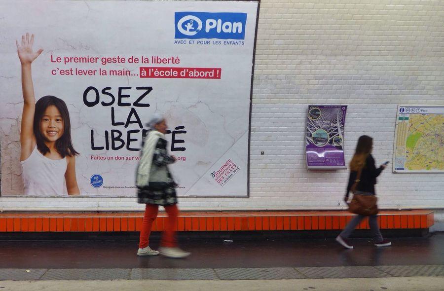 Underground Signs Paris Metro