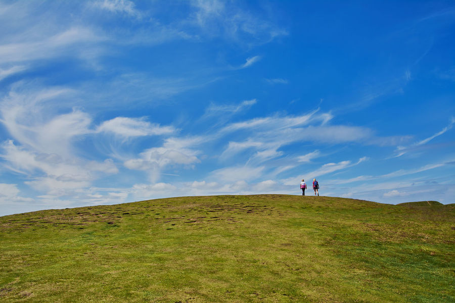 Scenes around the town where we live. Blue Sky Cloudscape Great Malvern Hills Landscape Malvern Malvern Hills Quaint  Quaint Village Scenery Town Uk Worcestershire